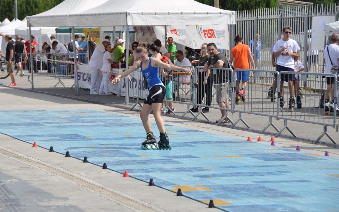 Rotelle infuocate al Campionato Italiano Freestyle