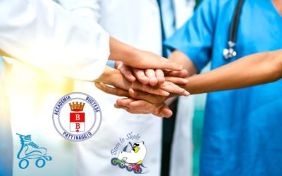 Accademia Bustese Pattinaggio sostiene l'ospedale di Busto Arsizio