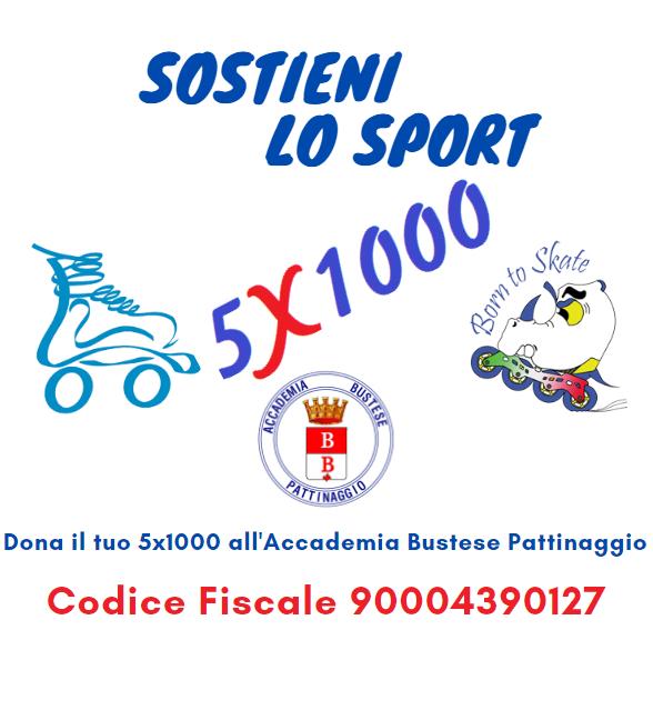 Sostieni lo Sport – Dona il 5×1000 all'Accademia
